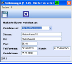 Screenshot für Bookmanager Professional